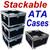 """STACKABLE"" ATA Case - Utility Trunk w/Wheels ID 23x23x13"