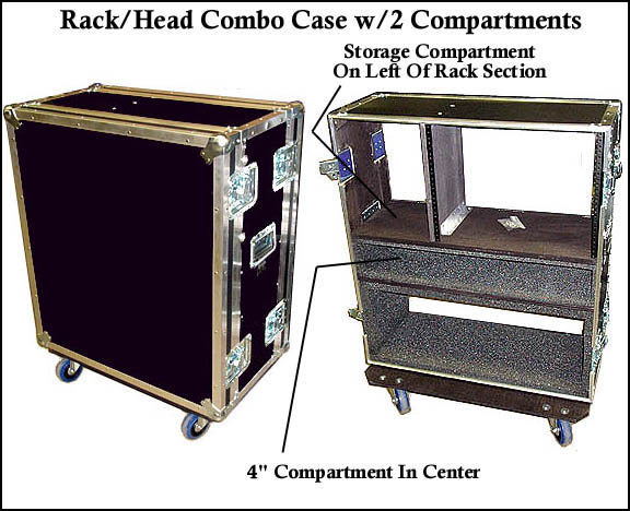 custom rack head accessories combo cases