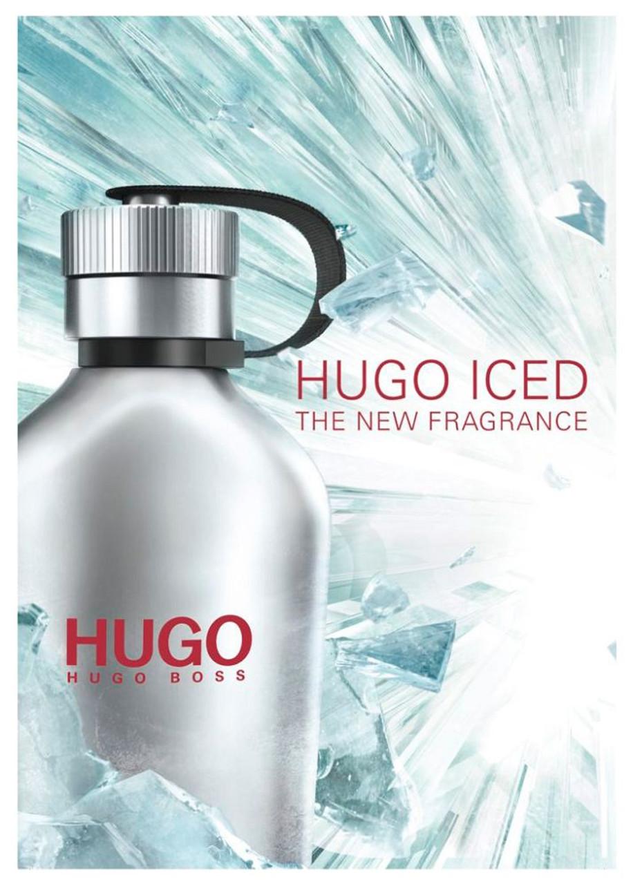 new arrive pretty cheap on feet shots of Hugo Iced by Hugo Boss 4.2oz Men