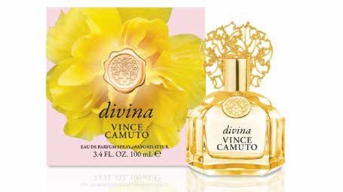 Divina by Vince Camuto Eau De Parfum Spray For Women 3.4oz