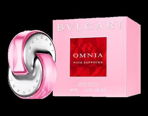 Bvlgari Omnia Pink Sapphire Eau De Toilette Spray For Women 2.2oz