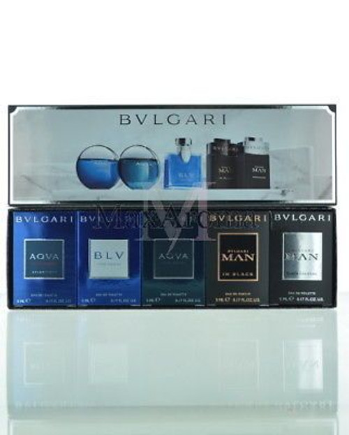 Bulgari The Men's Gift Collection Miniature Gift Box