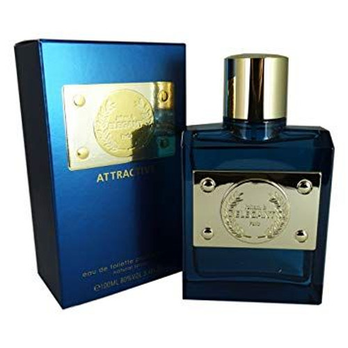 Elegant Attractive Johan B 3.4oz Men Cologne Spray