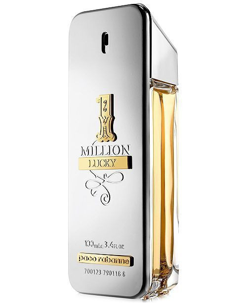 1 Million Lucky Paco Rabanne 3.4oz Men Cologne Spray