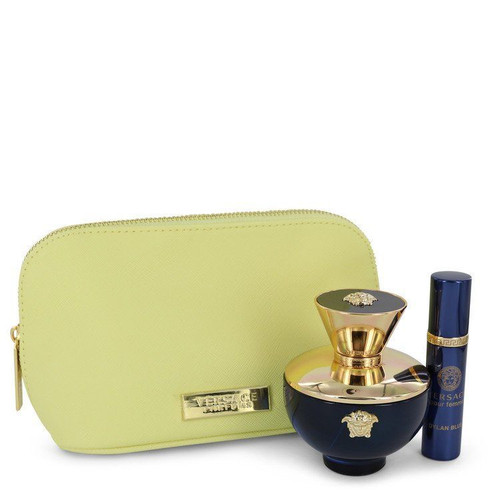 Dylan Blue by Versace  3pc Bag Set Women