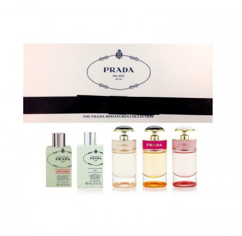 PRADA 5 PCS MINI Cofferet SET FOR WOMEN