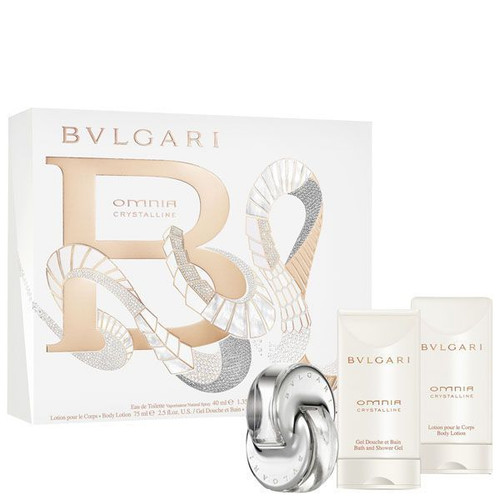 Omnia Crystalline by Bvlgari 3pc Gift Set For Women