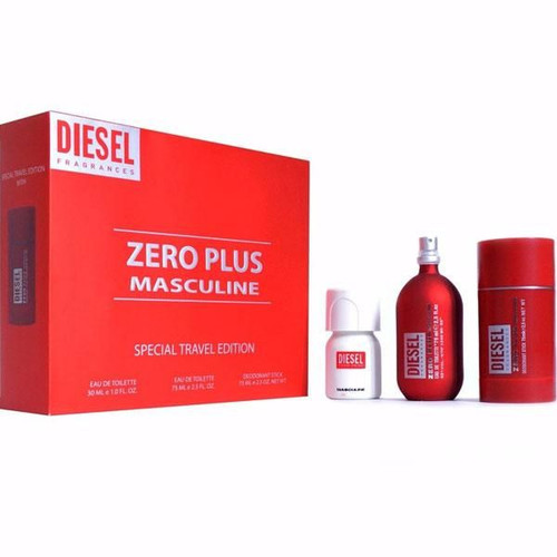 Diesel Zero Plus Masculine 3pcs Set Men