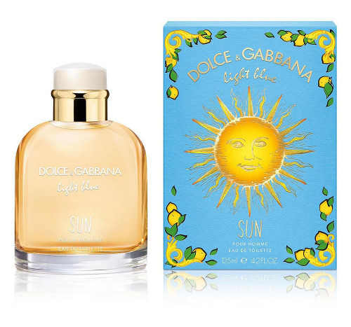 DOLCE and GABBANA Light Blue Sun 4.2oz
