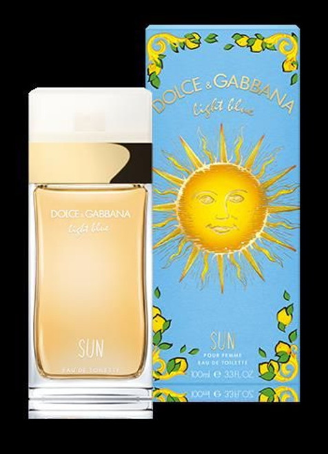 Dolce and Gabbana Light Blue Sun 3.3oz