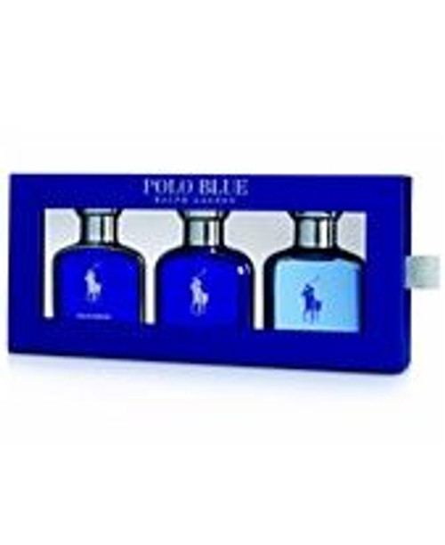 Polo Blue 3pcs Gift Set Men