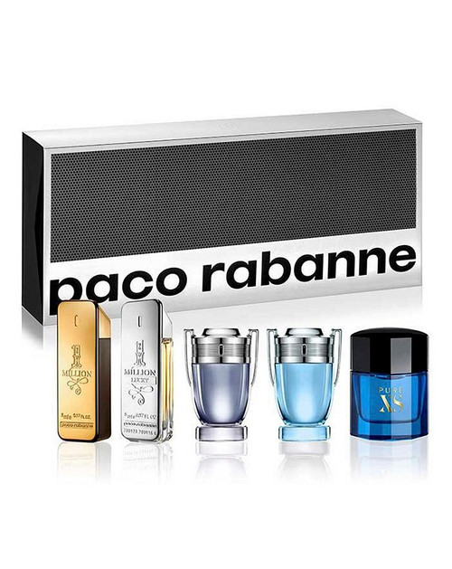Paco Rabanne 5pc Mini Coffert Set Men