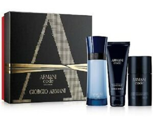 Armani Code Colonia 3pc Cologne Set