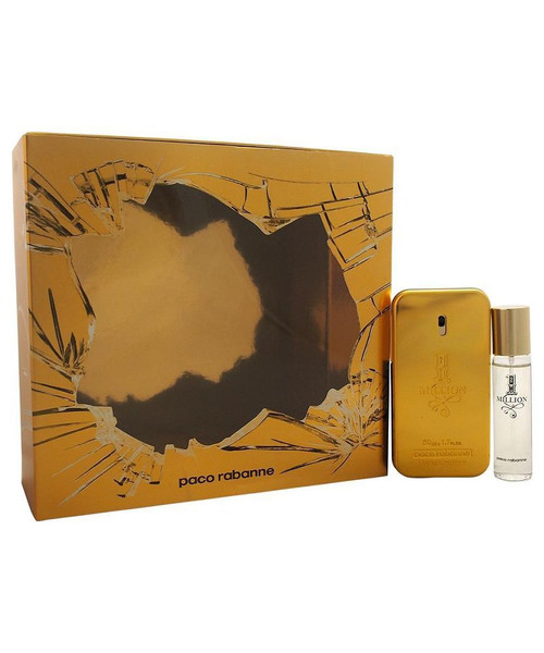 1 Million by Paco Rabanne 2pcs  Cologne Set