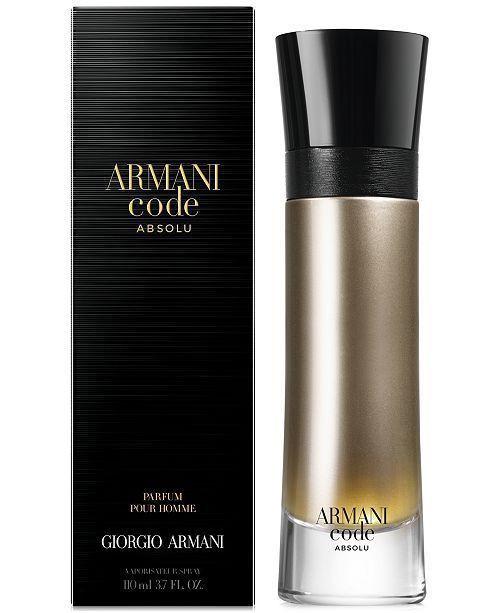 Armani Code Absolu 3.7oz Parfum Pour Homme