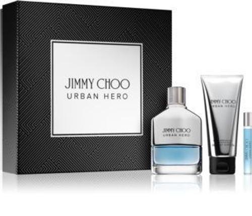 Jimmy Choo Urban Hero 3pc Gift Set Men