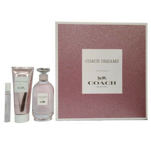 COACH DREAMS PARFUM 3 PIECE GIFT SET