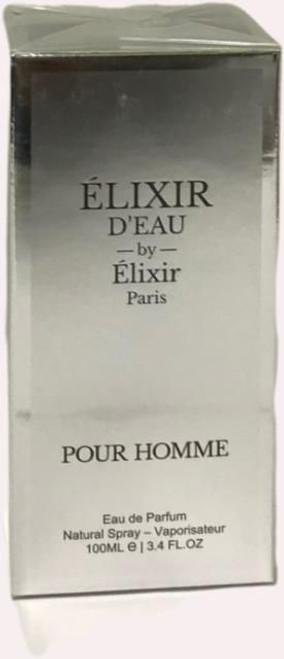 ELIXIR D'EAU By Elixir Paris POUR HOMME Eau de Parfum 3.4oz