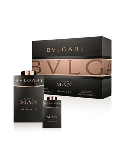 Bvlgari Man In Black 2pc Set Men Eau De Parfum Spray