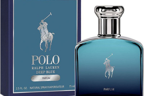 Ralph Lauren Polo Deep Blue Parfum 2.5oz Parfum Spray