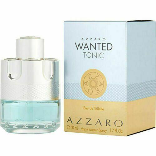 Azzaro Wanted Tonic 3.4oz Eau De Toilette Spray Men