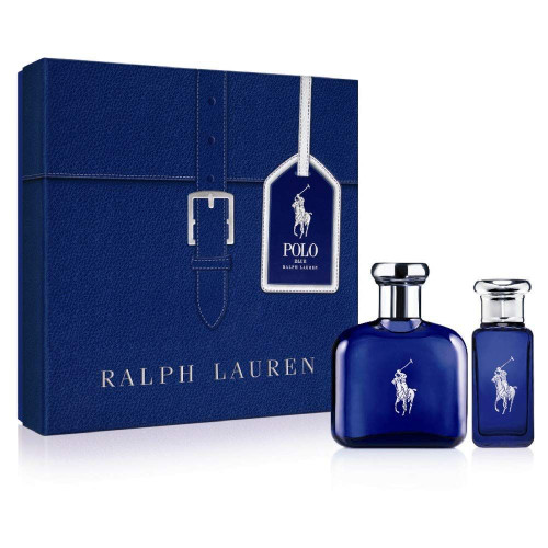 Polo Blue Ralph Lauren 2pcs Set men 4.0oz And 1.0oz