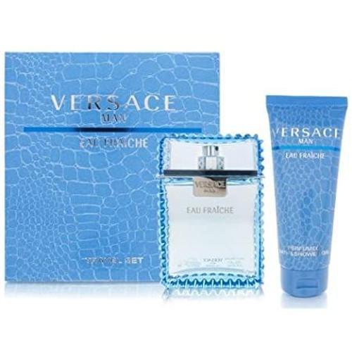 Versace Eau Fraiche 2pc set With Shower Gel