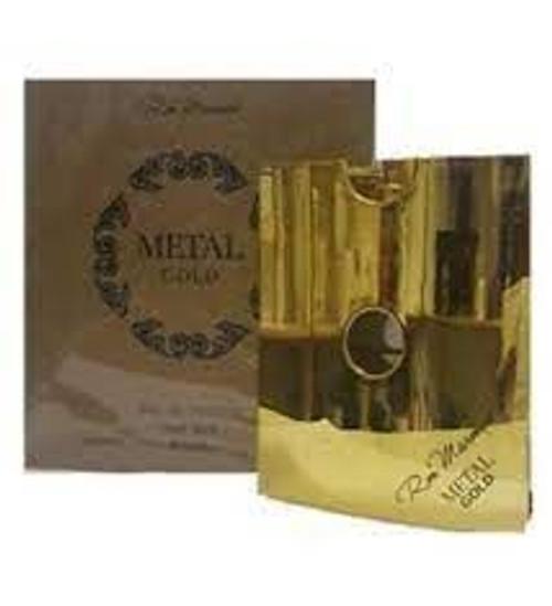 Ron Marones Metal Gold Men 3.4oz Eau De Parfum