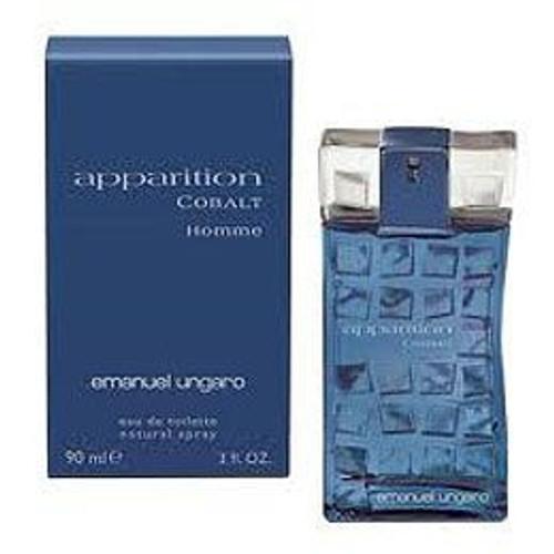 Apparition Cobalt By Emanuel Ungaro 3.0oz Eau De Toilette Spray Men