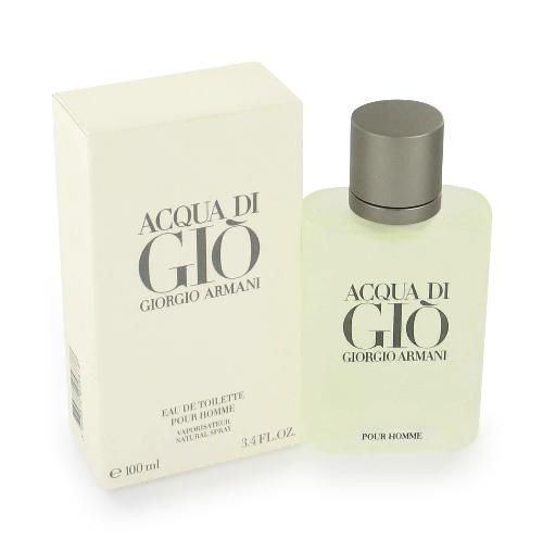 Acqua Di Gio Giorgio Armani 3.4oz Eau De Toilette Spray Men
