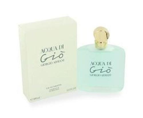 Acqua Di Gio by Giorgio Armani 1.7oz Eau De Toilette Spray Women