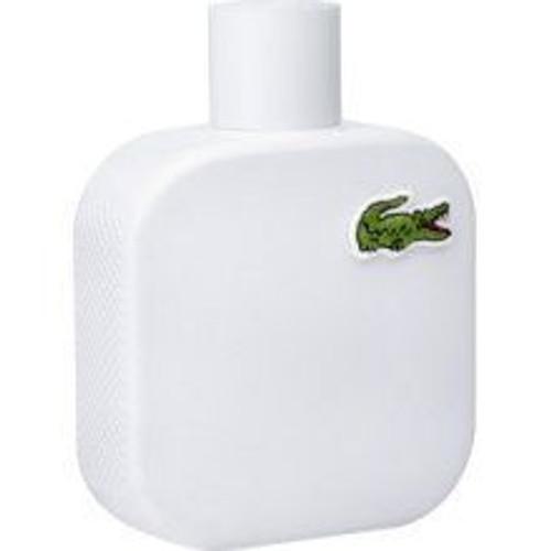 L.12.12 Blanc by Lacoste 3.4oz Eau De Toilette Spray Men