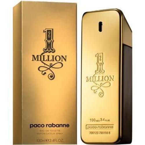 1 Million by Paco Rabanne 3.4oz Eau De Toilette Spray Men