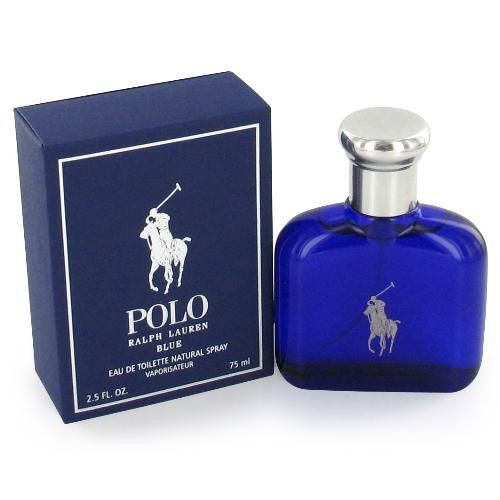 Polo Blue by Ralph Lauren 2.5oz Eau De Toilette Spray Men