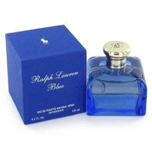 Ralph Lauren Blue 4.2oz Eau De Toilette Spray Women