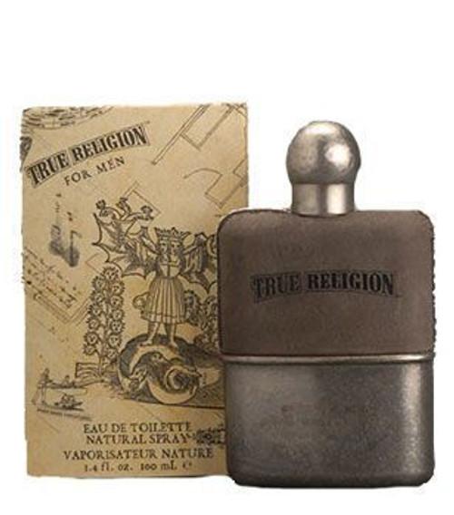 True Religion 3.4oz Eau De Toilette Spray Men