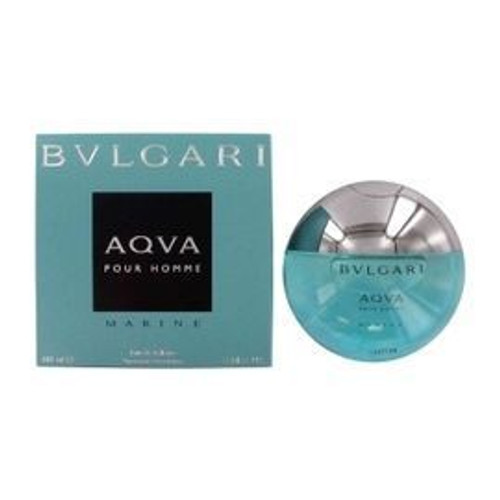 Aqva Marine Pour Homme by Bvlgari 3.4oz Eau De Toilette Spray Men