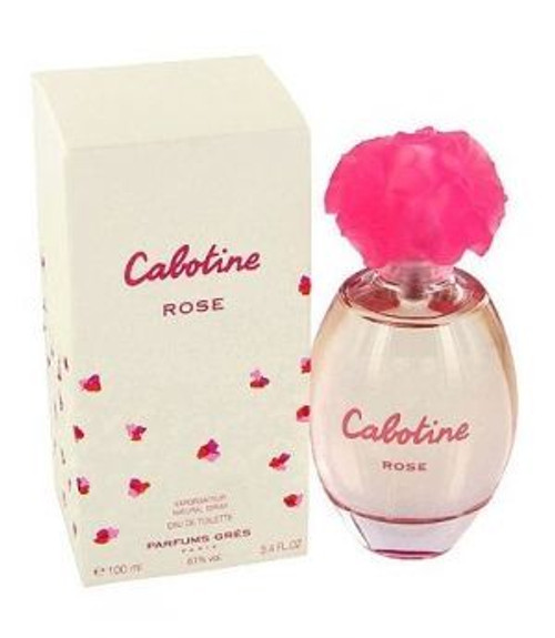 Cabotine Rose by Gres 3.4oz Eau De Toilette Spray Women