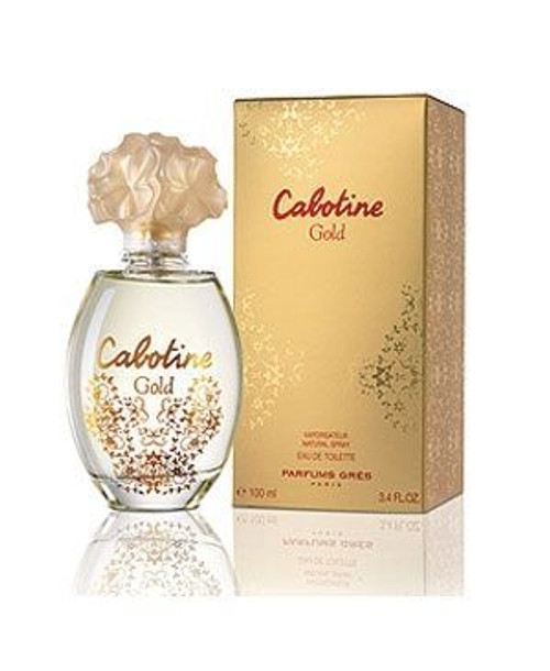 Cabotine Gold By Gres 3.4oz Eau De Parfum Spray Women