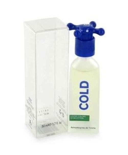 Cold by Benetton 3.4oz Eau De Toilette Spray For Men