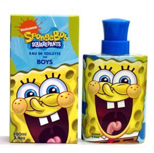Spongebob Squarepants 3.4oz Eau De Toilette Spray Boy
