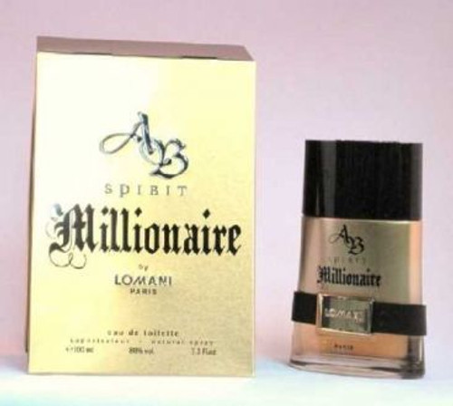 Spirit Millionaire By Lomani 3.4oz Eau De Toilette Spray Men