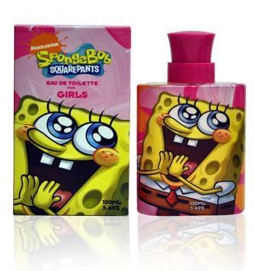 SpongeBob Squarepants Girls 3.4oz Eau De Toilette Spray