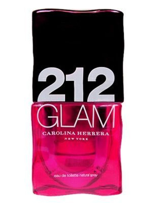 212 Glam by Carolina Herrrera 3.4oz Eau De Toilette Spray For Women