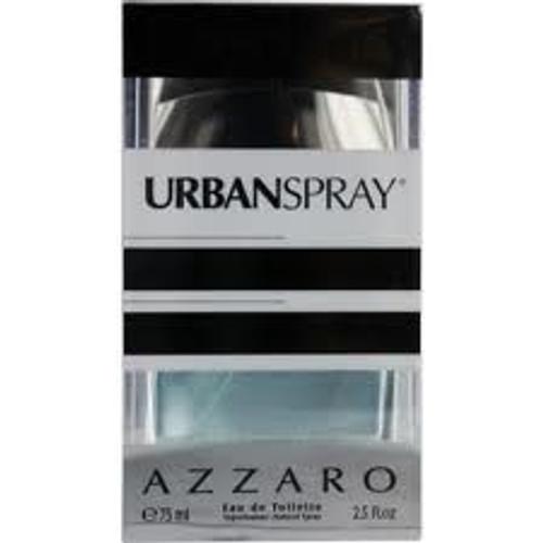 Chrome Urban Spray by Azzaro 2.5oz Eau De Toilette Spray Men