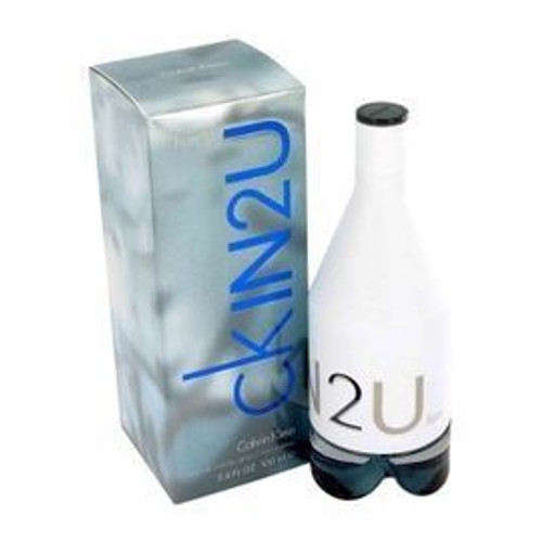 Ck In2U by Calvin Klein 3.4oz Eau De Toilette Spray Men