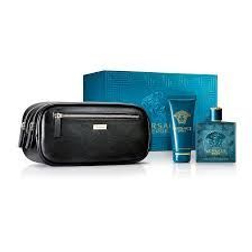 Eros By Versace 3pc Gift Set Men
