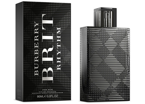 Burberry Brit Rhythm 3.0oz Eau De Toilette Spray Men