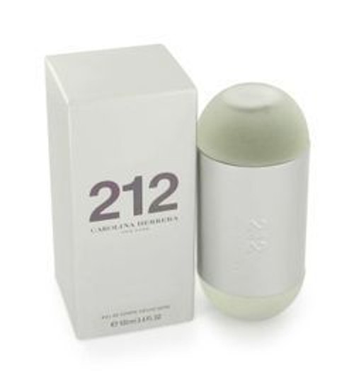 212 by Carolina Herrera 3.4oz Eau De Toilette Spray Women