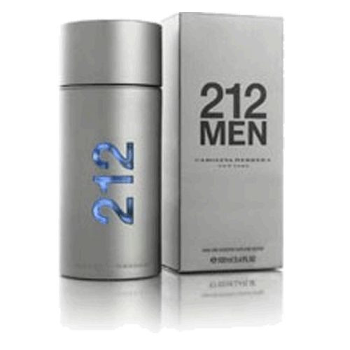 212 by Carolina Herrera 3.4oz Eau De Toilette Spray Men